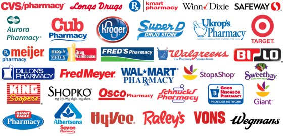 List of participating pharmacies